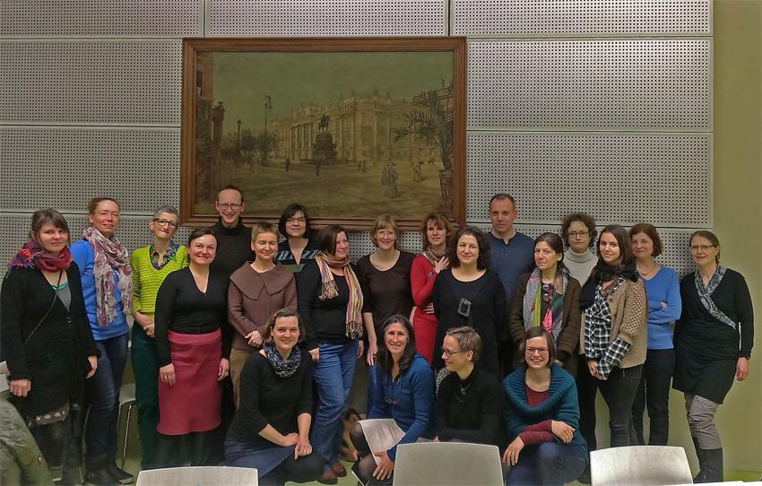 Staatsbibliothek, 13.2.15, Foto: Hanka Gerhold