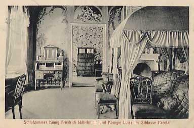 Schlafzimmer König F. W. III. und Königin Luise